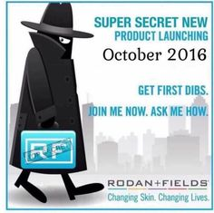 Rodan + Fields is growing so fast. We will be launching in Australia and announcing a new product October 2016. Message me on pinterest with any questions @ R+Fskincare101.