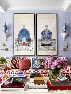 96+ Modern Living Room Decoration Ideas Using Ginger Jars http://www.aladdinslamp.net/96-modern-living-room-decoration-ideas-using-ginger-jars/