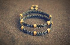 2 x 18K Gold 8/8 Bracelets by #ottobarraotto
