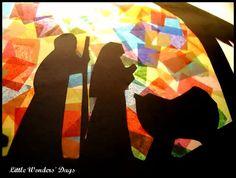 Away in a Manger Craft via Little Wonders' Days