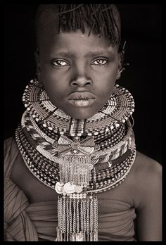 Northern Kenya,  Portrait by John Kenny