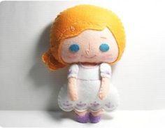 Shelby Girl #Felt #Doll #Pattern (PDF)