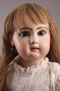 Dreamy-28-034-71-cm-Jumeau-Bebe-Doll-Closed-Mouth-Paperweight-Eyes-Circa-1880