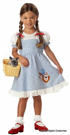 Toddler Lil' Dorothy Costume - Candy Apple Costumes - Kids' Costumes Under $30