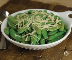 These delicious, fresh peas go from fridge to table in less than 10 minutes!
