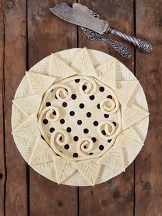 Aztec pie - karin pfeiff boschek baking pie crust recipes, p Baked Pie Crust, Pie Crust Recipes, Beautiful Pie Crusts, Pie Crust Designs, Pie Decoration, Pies Art, Pie Tops, No Bake Pies, Cook At Home