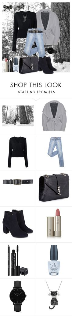 """""""Early Winter"""" by klm62 ❤ liked on Polyvore featuring SOREL, Balmain, Dolce&Gabbana, Belstaff, Yves Saint Laurent, Monsoon, Ilia, Rodial, OPI and CLUSE"""