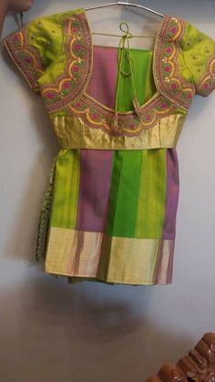 Wedding Saree Blouse Designs, Pattu Saree Blouse Designs, Best Blouse Designs, Embroidery Fashion, Hand Embroidery, Embroidery Designs, Traditional Blouse Designs, Designer Blouse Patterns, Dress Patterns