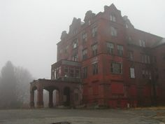 Northampton Mental Hospital; abandoned institutions fascinate me, would love to get inside one!