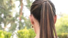 How to Create the Perfect Pony Tail