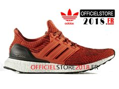 a8794a12542 Adidas Chaussures Homme Ultra Boost 3.0 Prix Pas Cher Energy Red  S80635-S80635-Adidas