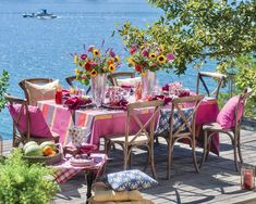 Fresco, Outdoor Dining, Outdoor Decor, Outdoor Spaces, Brunch, Table Top Design, Southern Ladies, Romantic Picnics, Flamingo Party