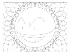 Free Printable Pokemon Coloring Page Electrode. Visit Our Page For More  Coloring! Coloring Fun For All Ages, Adults And Children.