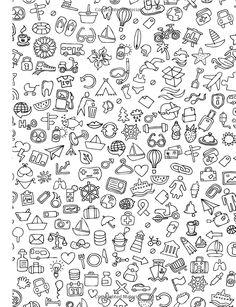 New drawing easy doodles simple tekenen ideas Doodle Tattoo, Doodle Art Drawing, Kawaii Doodles, Cute Doodles, Easy Doodles, Emoji Drawings, Easy Drawings, Mini Tattoos, Small Tattoos