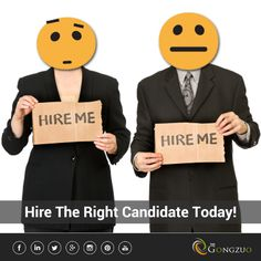 Everyone wants to get #hired, we help you hire the right person.  Post your requirements at #TheGongzuo.