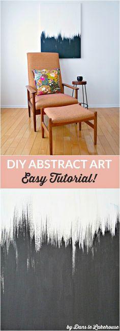 Easy DIY Art Anyone Can Do