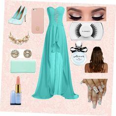 Prom in blue