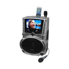Karaoke USA - MP3 Karaoke System - Silver