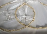 Gold Era Greek orthodox wedding crowns direct from Cyprus. We ship globally!