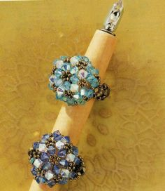Shell Ring | biser.info - all about beads and beaded work