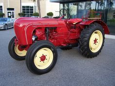 porsche tractors | Porsche Used to Build Tractors
