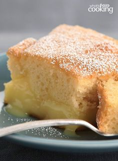 Warm Winter Lemon Cake #recipe