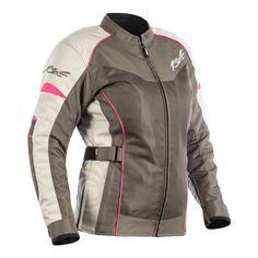 RST Gemma Ladies Vented Summer Textile Motorcycle Jacket Black Sizes 8 to UK 20
