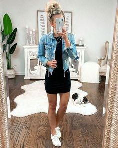 cute outfits for spring \ cute outfits ; cute outfits for school ; cute outfits for winter ; cute outfits with leggings ; cute outfits for school for highschool ; cute outfits for women ; cute outfits for spring Trendy Summer Outfits, Cute Casual Outfits, Fall Outfits, Fashion Outfits, Cute Dress Outfits, Casual Jeans, Comfy Casual, Cute Legging Outfits, Summer Dress Outfits