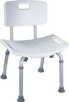 Shower And Bath Seats: Adjustable Medical Bathtub Bath Shower Chair Bench  Seat Stool Armrest Back White  U003e BUY IT NOW ONLY: $100 On EBay!