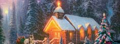 Christmas Chapel63 Facebook Covers