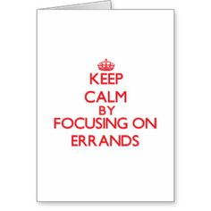 Errand Gifts - T-Shirts, Art, Posters & Other Gift Ideas | Zazzle