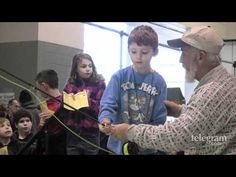 Kids Learn Fly Casting at the Fishing and Outdoor Expo
