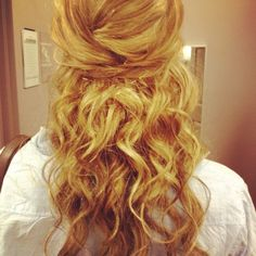 My prom hair style!