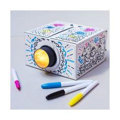Décorez votre projecteur  Le cinéma dans votre salon  Crayon, feutre, peinture ...  Compatible iOS et Android