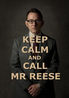 Keep Calm and Call Mr. Reese