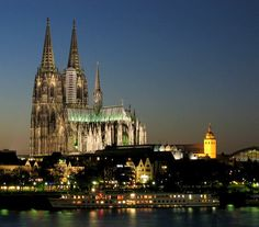 Cologne Cathedral - cornerstone laid in 1172.