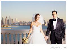 Wedding photos taken in Dubai Kempinski Hotel Palm Jumeirah.  www.kempinski.com/palmjumeirah | Instagram @Kempinski Hotel & Residences Palm Jumeirah, Dubai, UAE