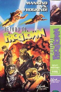Return to Frogtown (1992) Wasteland/Wierdness
