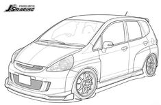 Honda Jazz, Honda Fit, Gd, Cars And Motorcycles, Dream Cars, Clip Art, My Style, Vehicles, Fitness