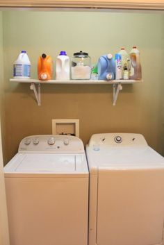 A woman updates her 'dark and dingy' laundry room for $100—look at how gorgeous it is now!