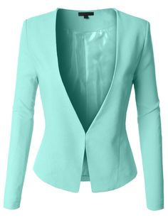Womens Textured Fully Lined Tuxedo Blazer is perfect for the spring. Look Blazer, Fall Outfits, Fashion Outfits, Blazer Jackets For Women, Work Attire, Work Casual, Jacket Style, Work Fashion, Suits For Women