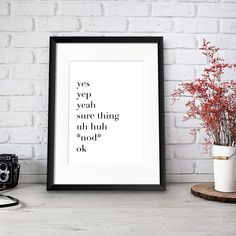A one-stop shop for all unique, personalised prints, illustrations and handmade gifts for every occasion big or small Party Hacks, Personalised Prints, Funny Inspirational Quotes, Text Color, Yes, True Words, Dark Side, Life Is Good, How To Apply