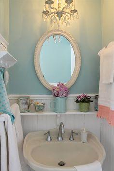 Decoração vintage para o banheiro