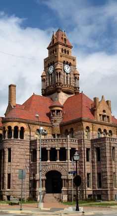 Wise County Courthouse. Decatur, Texas.