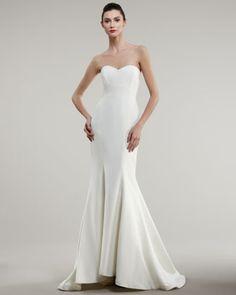 847cd0a90df Nicole Miller Strapless Trumpet Gown. Formal Dresses For WeddingsWedding  Dresses Size ...