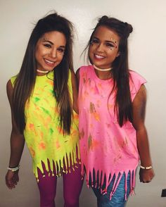 "ce2a794cbf6b Natalie King ♡ on Instagram: ""r a v e 💓🦄💫🌈"". Glow Party OutfitNeon ..."
