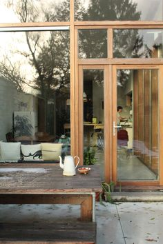 House Design, House, House Windows, Interior Architecture, House Exterior, Architecture Exterior, House Inspiration, Interior Garden, Interiors Dream