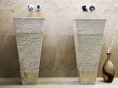 Stone sink - stone washbasins.  http://www.Lux4home.com