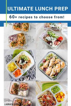 Your meal planning challenge ends today! Try these lunch and dinner meal prep ideas and tips to hel you pack better, healthier office lunches and cook amazing dinners the whole family will enjoy. Real Food Recipes, Snack Recipes, Easy School Lunches, Best Meal Prep, Prepped Lunches, Easy Food To Make, Original Recipe, Kitchen Hacks, Prepping