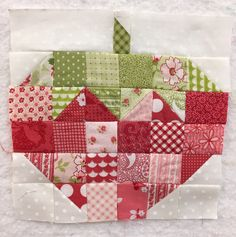 Strawberry by Bee in My Bonnet made for my Splendid Sampler quilt